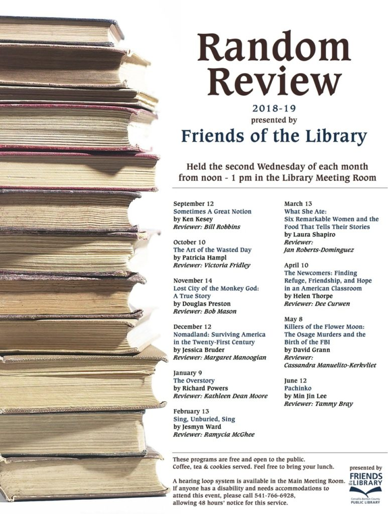 Random Review presented by Friends of the Library