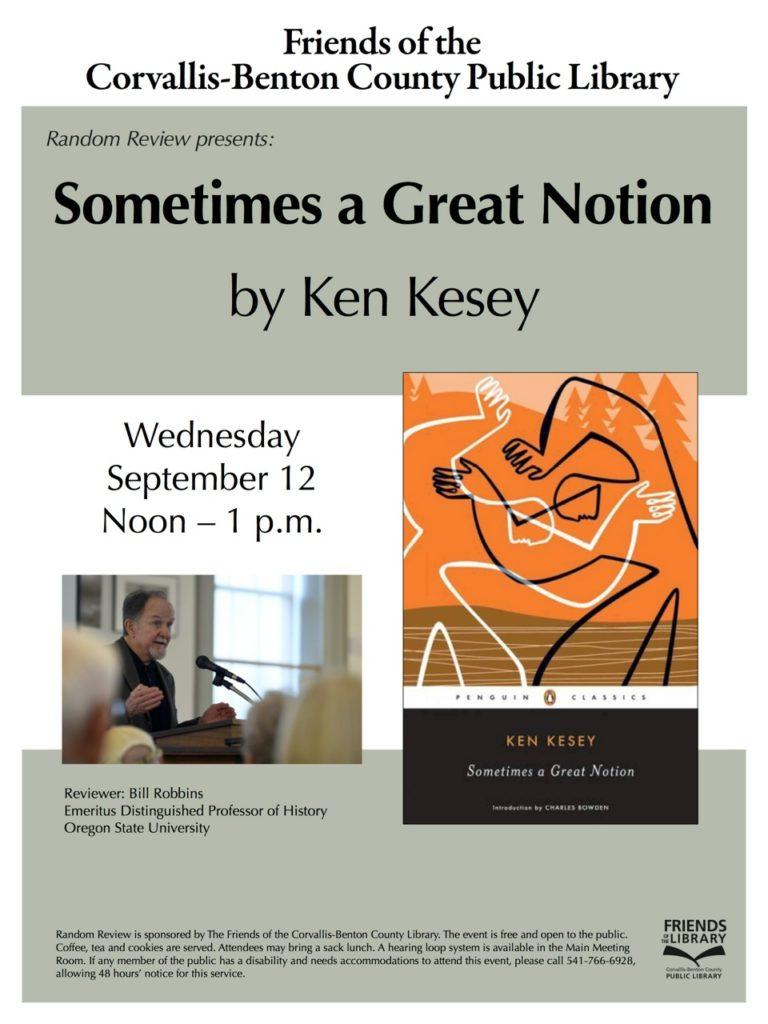 Random Review Wednesday, Sept. 12, Noon-1 p.m.